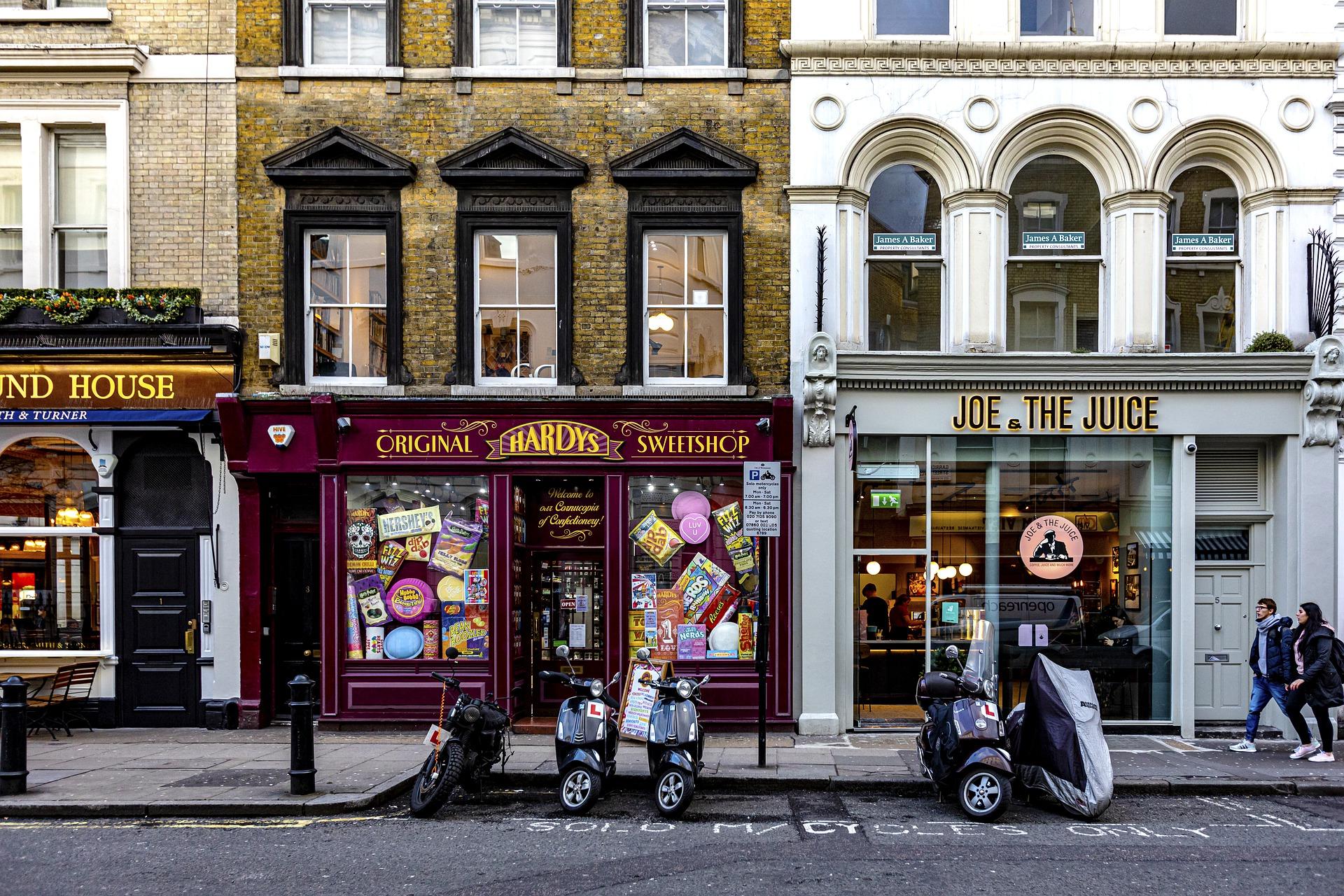 UK shops