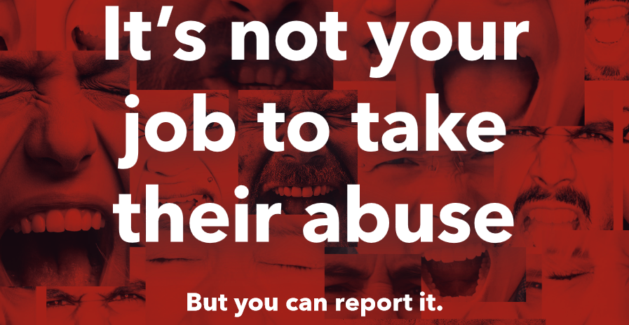 Always Report Abuse