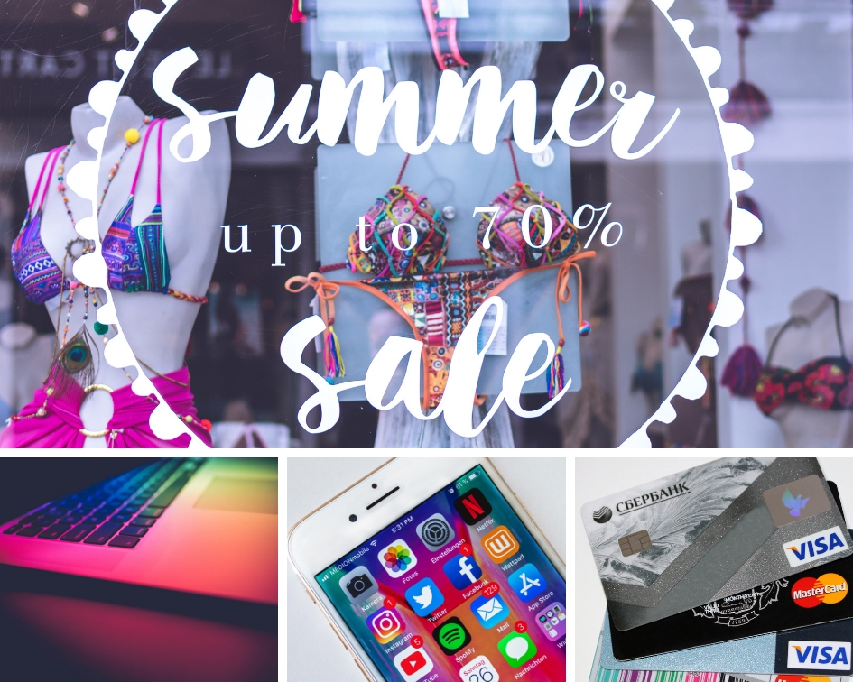 online sales