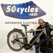 logo of 50cycles Advanced Electric Bikes