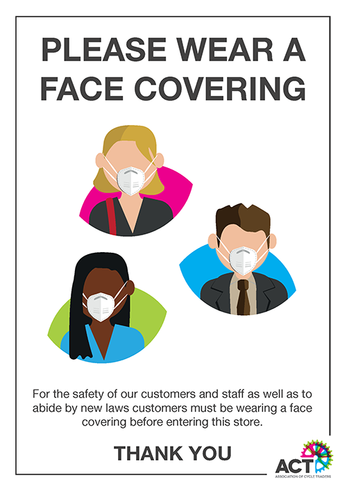 Face Covering Poster - ACT