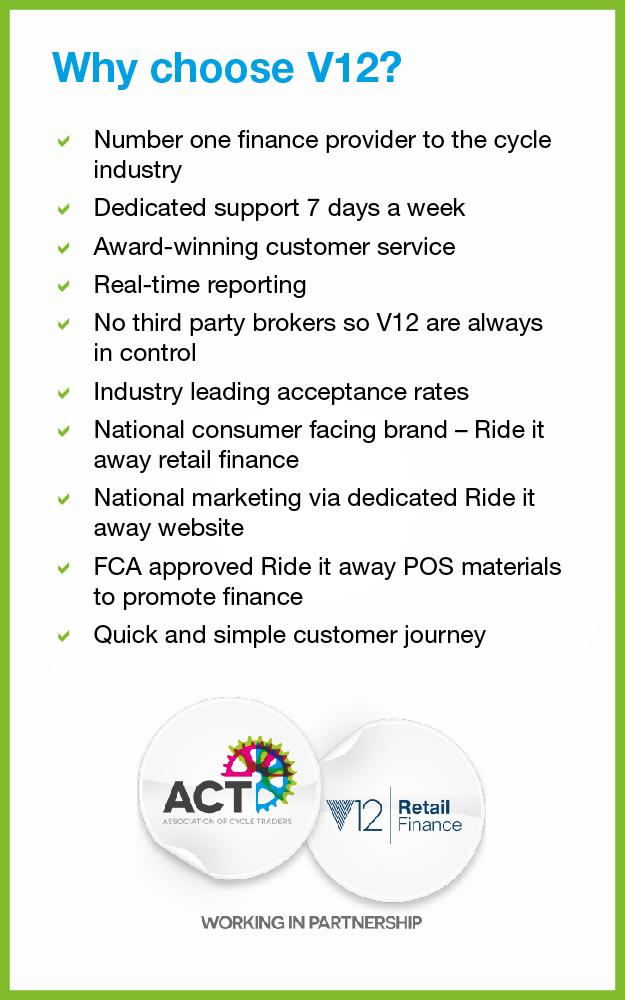 v12 key benefits